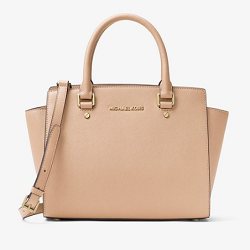 MICHAEL KORS - Selma Saffiano Leather Medium Satchel